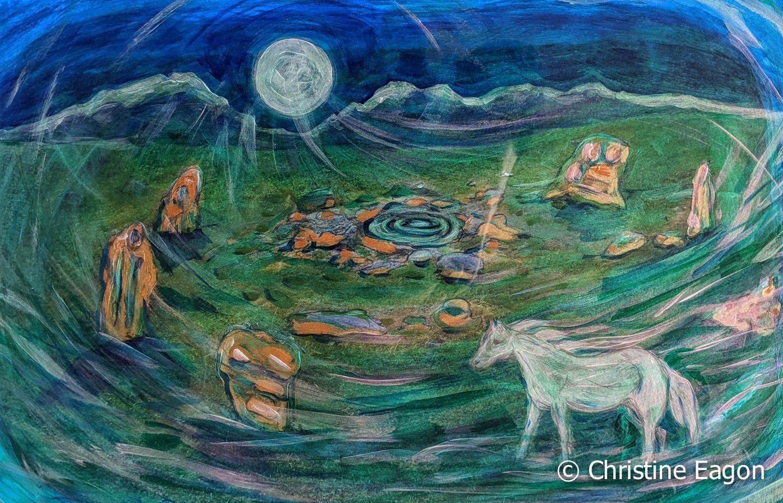Moon Rise at Dartmoor